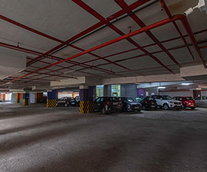 Ample Parking Space availabe